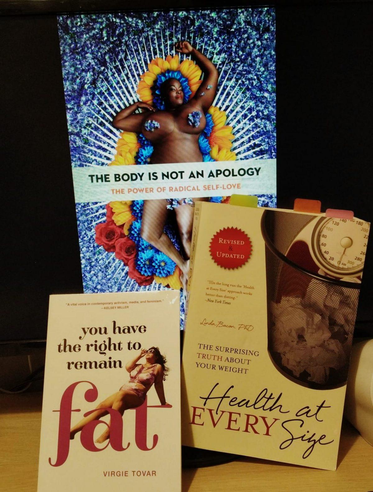 3 libros contra la Gordofobia